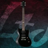 ESP LTD VIPER-10 Black Elektro Gitar + GigBag