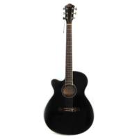 CARLOS CR-5CL-BK Solak Akustik Gitar