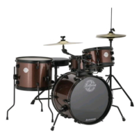 LUDWIG The Pocket Kit by Questlove Wine Sparkle Bateri (LC178X025)