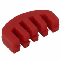 Carlovy CVMR Kırmızı Plastik Keman Sürdini