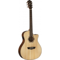 Washburn Woodline 10 Serisi WLO10SCE - Elektro Akustik Gitar