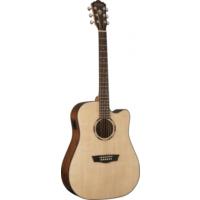Washburn Woodline 10 Serisi WLD10SCE - Elektro Akustik Gitar