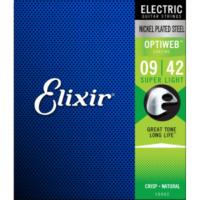 Elixir 009-042 Optiweb Elektro Gitar Teli