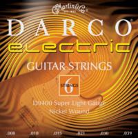 Martin D9400 08-39 Elektro Gitar Teli Darco (Super Light)