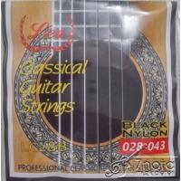 Lea Lc-28B Klasik Gitar Teli - Siyah Misineli