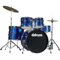 Ddrum D2 - 5 Parça Davul Seti - Police Blue