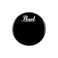 Pearl Eb-22Bdpl 22'' Logo Front Bass Drumhead Black