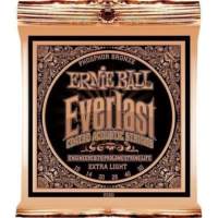 Ernie Ball P02550 Everlast Akustik Gitar Teli (Extra Light)