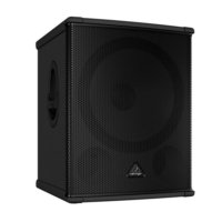 Behringer B1800Hp High-Performance Active 2200-Watt Pa Subwoofer With 18 Turbosound Speaker And Bu.