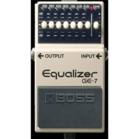 Boss GE-7 Equalizer Compact Pedalı