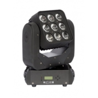 Eclips INCA - 9x12W RGBW Led Moving Head Wash