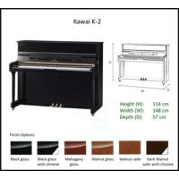 Kawai K-2 M/PEP Upright Piyano