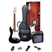 Sx Se1 Sk Bk Elektro Gitar Seti