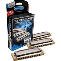 Hohner 532/20 Blues Harp Mızıka seti ( Do - Sol - La )