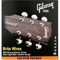 Gibson Brite Wires Elect. .009-.046 Tel