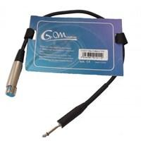 G.Master GM-13 0,5M Mikrofon Kablosu / XLR-Çivi Jack