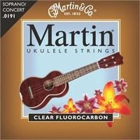 Martin Clear Fluorocarbon Soprano/Concert Ukulele Teli