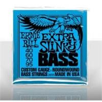 Ernie Ball Po2835 Extra Slinky Bass Nickel Wound 40-95 4 Telli Bass Gitar Tel Seti