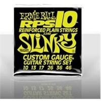 Ernie Ball PO2240 RPS-10 Slinky Nickel Wound 010 - 046 Elektro Gitar Tel Seti