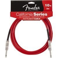 Fender 10' California Instrument Cable, Candy Appl