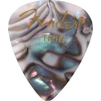 Fender 351 Shape Premium Picks, Thin, 12 Pack, Aba