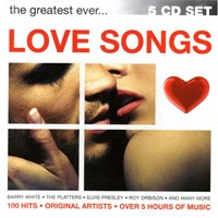 The Greatest Ever Love Songs 5 Cd Set