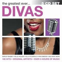 The Greatest Ever Divas 5 Cd Set
