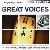 The Greatest Ever Great Voices 5 Cd Set