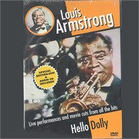 Louis Armstrong - Hello Dolly Live Performance Special Edition - Dvd Ve Cd Birlikte