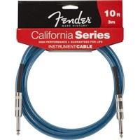 Fender 10' California Instrument Cable, Lp Blue