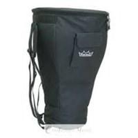 Remo Bag Djembe 10 X 20.5 Shoulder Strap Deluxe Black