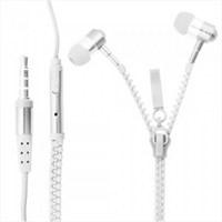 Saywin U2045 Zipper Mikrofonlu Fermuarlı Kulak İçi Kulaklık Beyaz