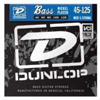 Jim Dunlop 45-125 5 Tel Bas Gitar Nikel Tel Seti