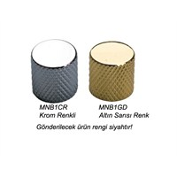 Dr Parts Mnb1Bk Dome (Yuvarlak) Kontrol Düğmesi (Siyah)
