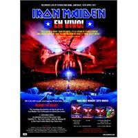 Iron Maiden – En Vivo Live in Santiago (Steelbook 2xDeluxe DVD)