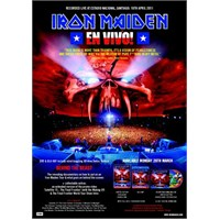 Iron Maiden – En Vivo Live in Santiago (Blu-ray Disc)