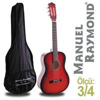Manuel Raymond MRC87RB Junior Klasik Gitar (Kılıf Hediyeli)