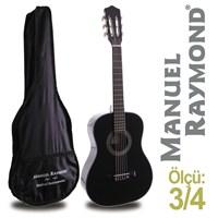 Manuel Raymond MRC87BK Junior Klasik Gitar (Kılıf Hediyeli)