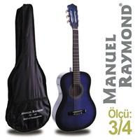 Manuel Raymond MRC87BB Junior Klasik Gitar (Kılıf Hediyeli)