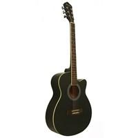 Segovia Gitar Akustik Cutaway SGA40BK (Aksesuar Hediyeli)