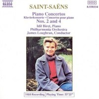 Saint-Saens Piano Concertos Nos.2&4 (Cd)