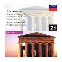 Beethoven - Symphonies Nos. 1, 3, 6, 8 - 2 Cd