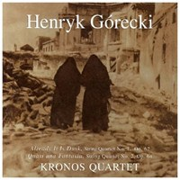 Henryk Gorecki - Already It İs Dusk Cd