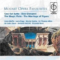 Mozart - Opera Favourites Cd