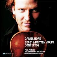 Berg & Britten Violin Concertos Cd