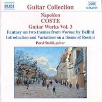 Napoleon Coste - Guitar Works Vol. 3 (Cd)