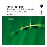 Haydn - De Fossa - The Complete 9 String Quartets Arranged For Two Guitars Vol. 2 (Cd)