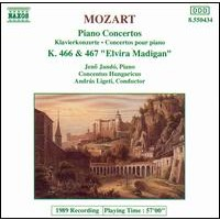 Mozart - Piano Concertos No. 20, K. 466 & No. 21, K. 467 Cd
