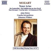Mozart - Tenor Arias Cd