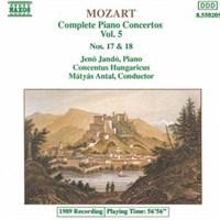Mozart - Complete Piano Concertos Vol. 5 - Nos. 17 & 18 Cd